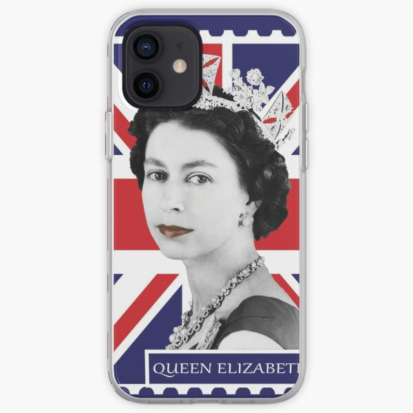 Queen Elizabeth II & Union Jack iPhone Soft Case