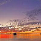 Esplanade Jetty At Dusk  by EOS20