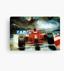 Michael Schumacher in Austria Canvas Print