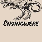 Enyingwere ( Dinosaur) Igbo inspired T-shirt by Learn Igbo Now