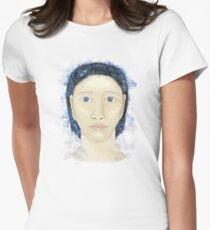 Face with boubles Women's Fitted T-Shirt