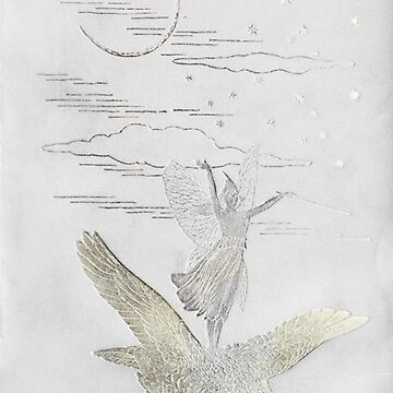 """Vintage Book Cover - """"The Grey Fairy"""" by lollylocket"""