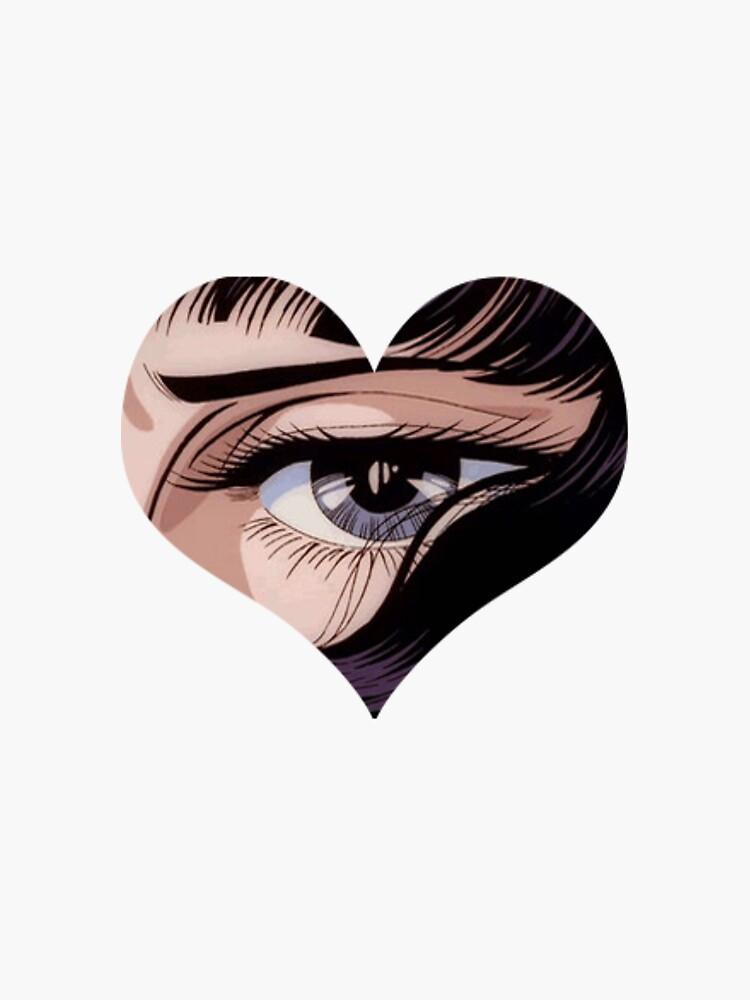 anime eye by odinsxn