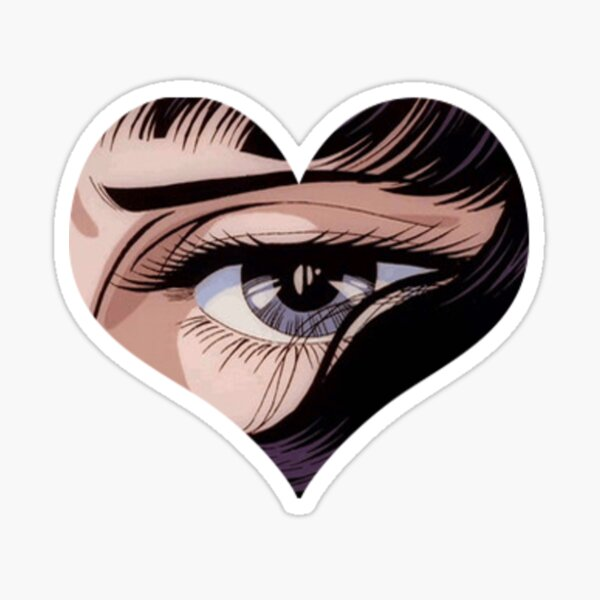 anime eye Sticker