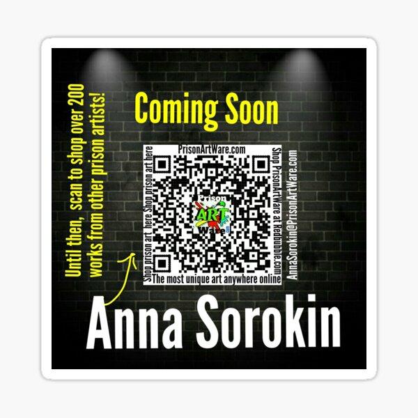 Anna Sorokin  Sticker