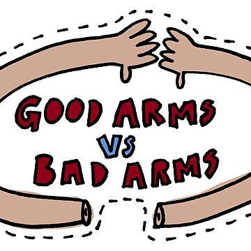 Good vs Bad Arms - Frightened Rabbit by KrisKarlson