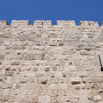 Israel, Jerusalem, The walls of the old city by PhotoStock-Isra