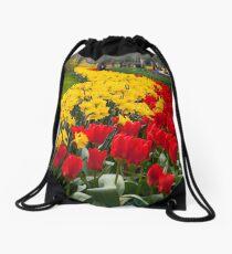 Tulip Curve Drawstring Bag