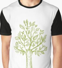 Tree pattern, tree drawing, tree design Graphic T-Shirt