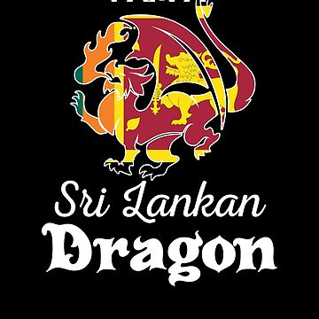 Dragon Sri Lankan Flag Sri Lanka  by countryflags