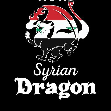 Dragon Syrian Flag Syria  by countryflags