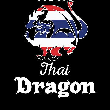 Dragon Thai Flag Thailand  by countryflags
