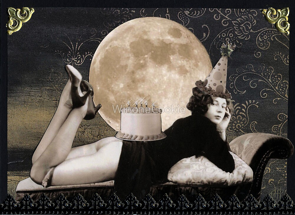 Birthday Moon by WinonaCookie
