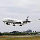 Airbus A350-1000 by Barrie Woodward