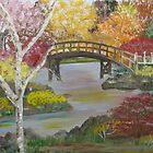 Autumn Bridge by Mikki Alhart