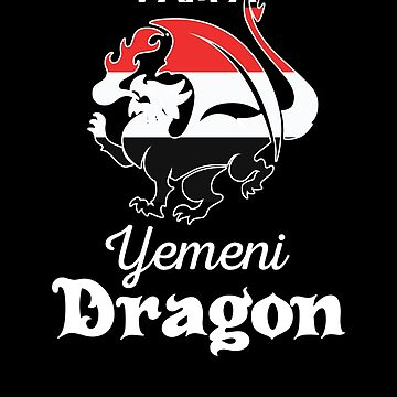 Dragon Yemeni Flag Yemen  by countryflags