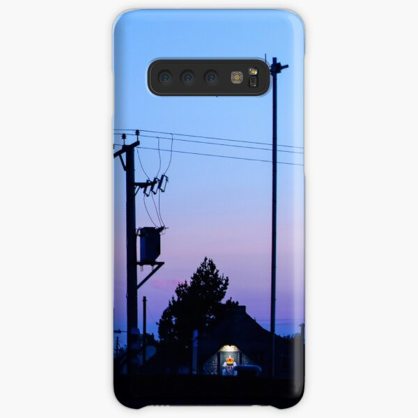 Sunset Power Lines Samsung Galaxy Snap Case