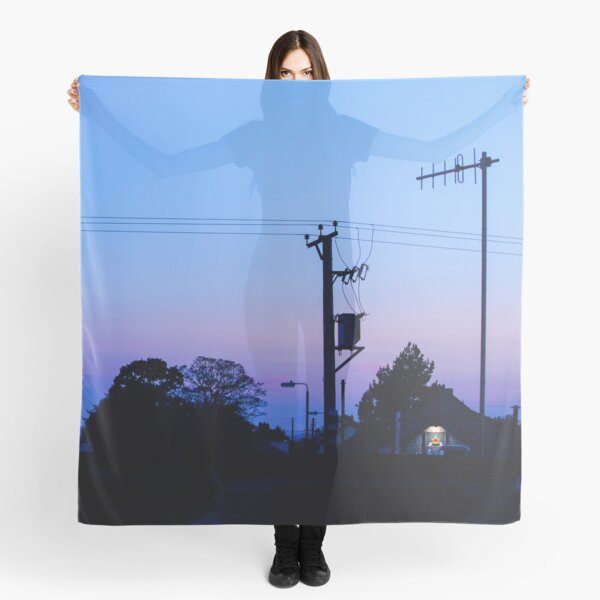 Sunset Power Lines Scarf