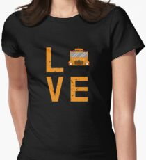 School Bus Driver Women's Fitted T-Shirt