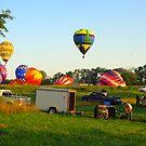 Balloons in My Backyard! by Lynn Moore
