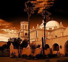 San Xavier Del Bac by Marvin Collins
