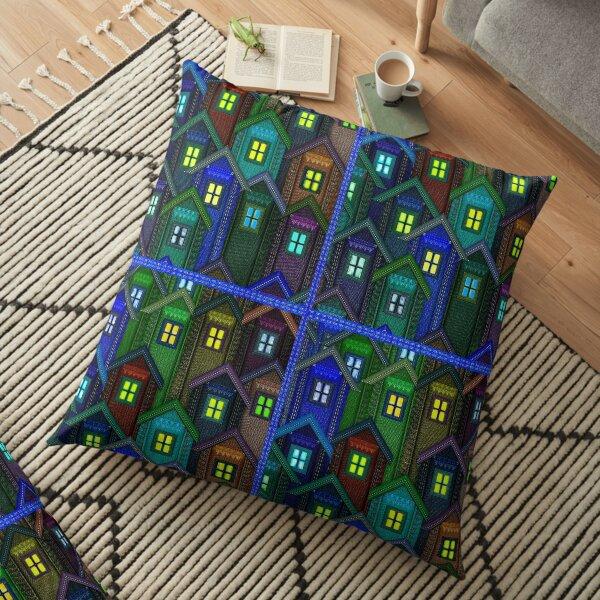 Blue Jeans Housing Compound (1) Floor Pillow