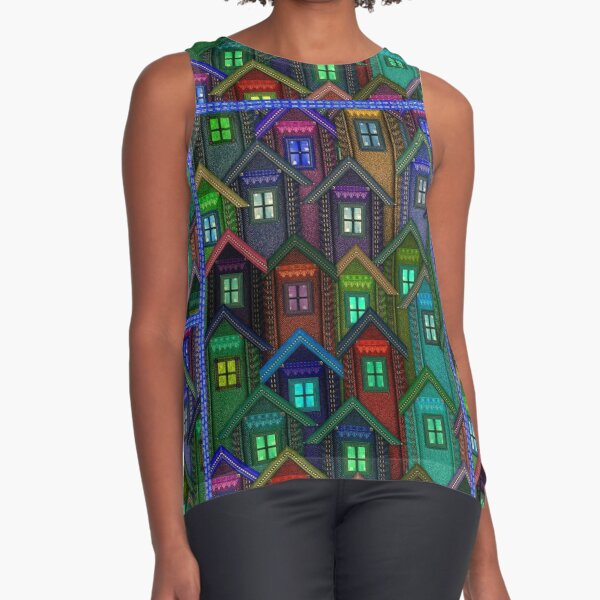 Blue Jeans Housing Compound (2) Sleeveless Top
