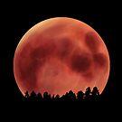 Blood Moon by anatomyautumnal