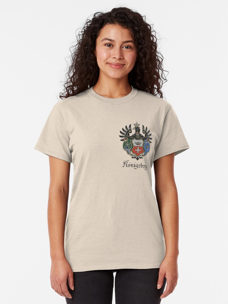 Alternate view of Königsberg Coat of Arms Classic T-Shirt