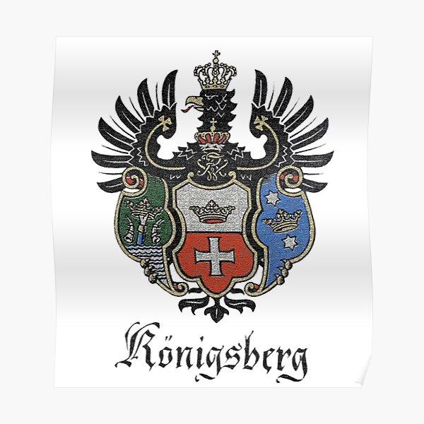 Königsberg Coat of Arms Poster