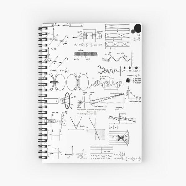 General Physics, #General, #Physics, #GeneralPhysics  Spiral Notebook