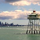 Waitemata Harbour, Auckland, New Zealand photograph by Vic Potter  by Vic Potter