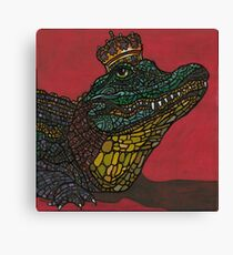 King of the Swamp © 2013 Canvas Print