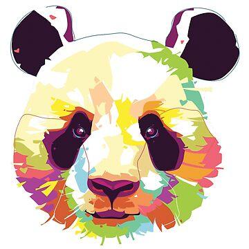 panda  design by yellowpinko