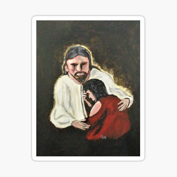 Mercy, No Sin To Great Sticker