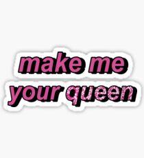 Declan McKenna Make Me Your Queen  Sticker