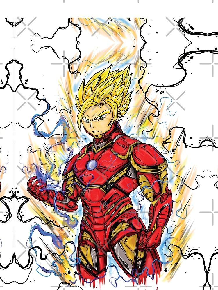Super Iron Kakarot by therdai