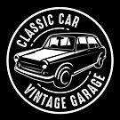 Classic Car Vintage Garage T-Shirt by wantneedlove