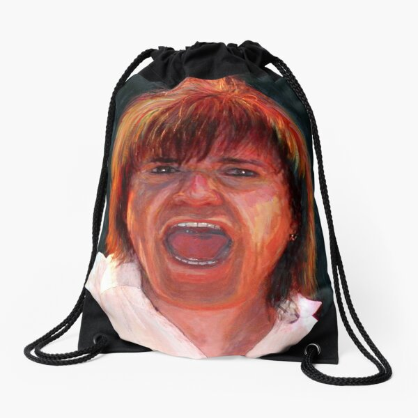 Lawrence Gowan of the Rock Group Styx Drawstring Bag