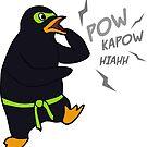Ultra Ninja Penguin by Andreea Butiu