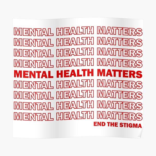 End the Stigma Poster