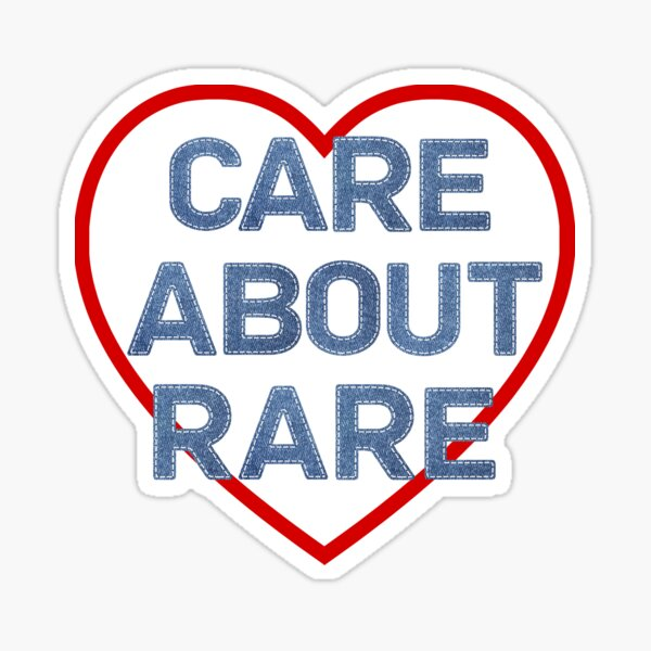 Care About Rare Sticker