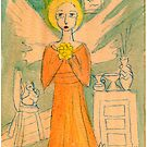 angel and interior by catherine walker