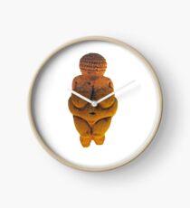 Prehistoric Fat Woman Clock