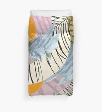 Pineapple Orange and The Pink Pattern Duvet Cover