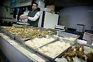 Portuguese Fish Market 9 a.m.- Newark NJ by Yuri Lev