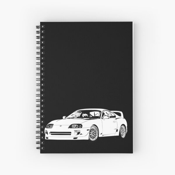 O'conner's Supra Furious Seven    Spiral Notebook