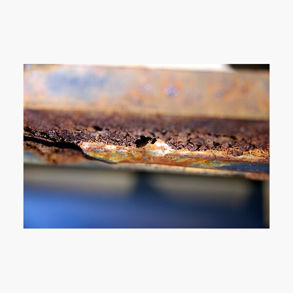 Rusty Old Car Photographic Print