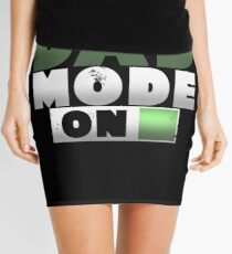 Dad Mode On Father's Day Gift Mini Skirt