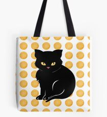 Little Black Cat Tote Bag